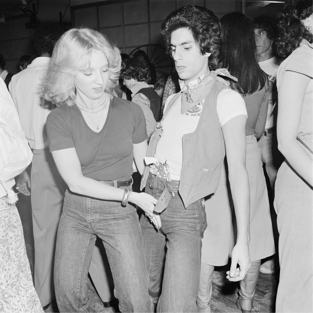 Dancing hand to Crotch Hurrah Wild Wild West Party, New York, NY March 1978, 1978
