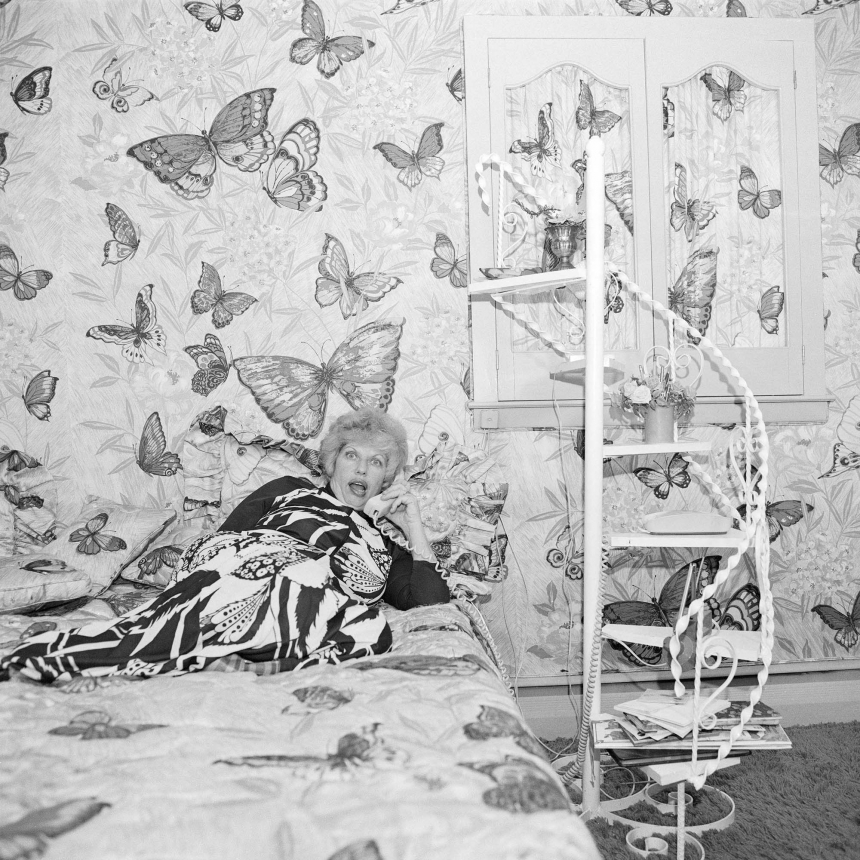 Butterfly Bedroom Telephone, East Meadow, NY , June 1975