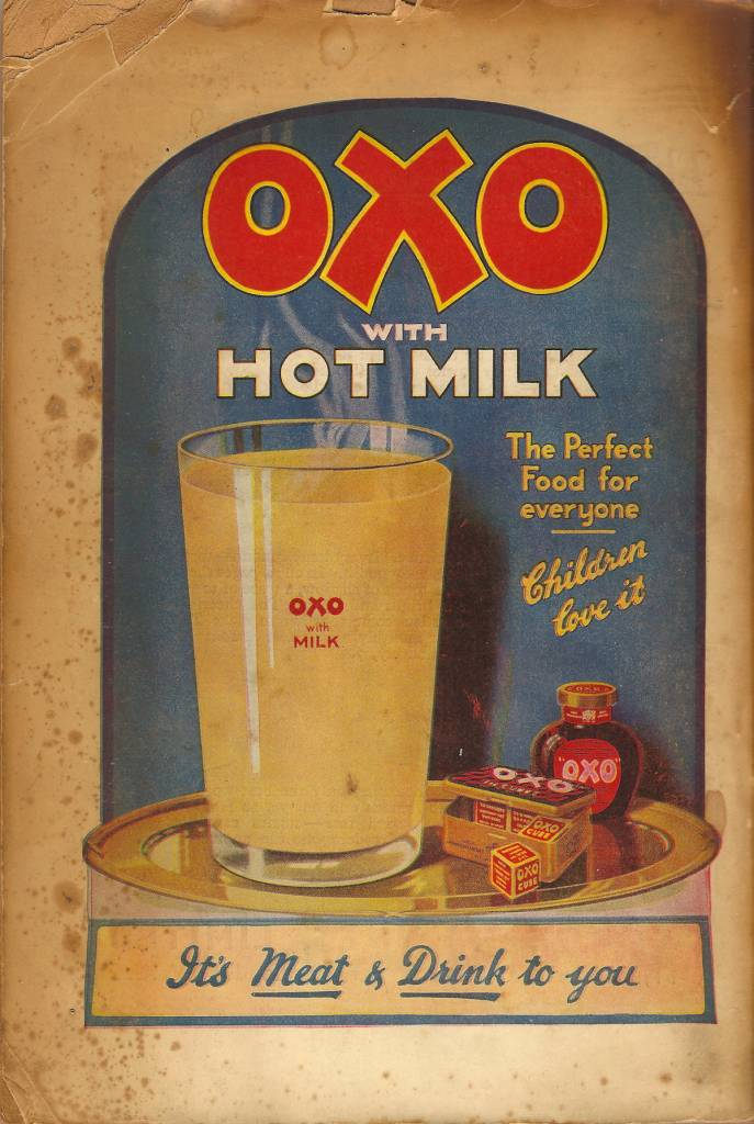 OXO with hot milk - advert, c1935 copy