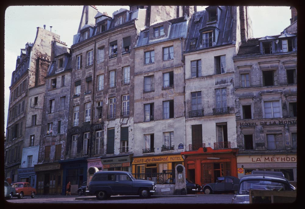May 12, 1960. Rue DesCartes