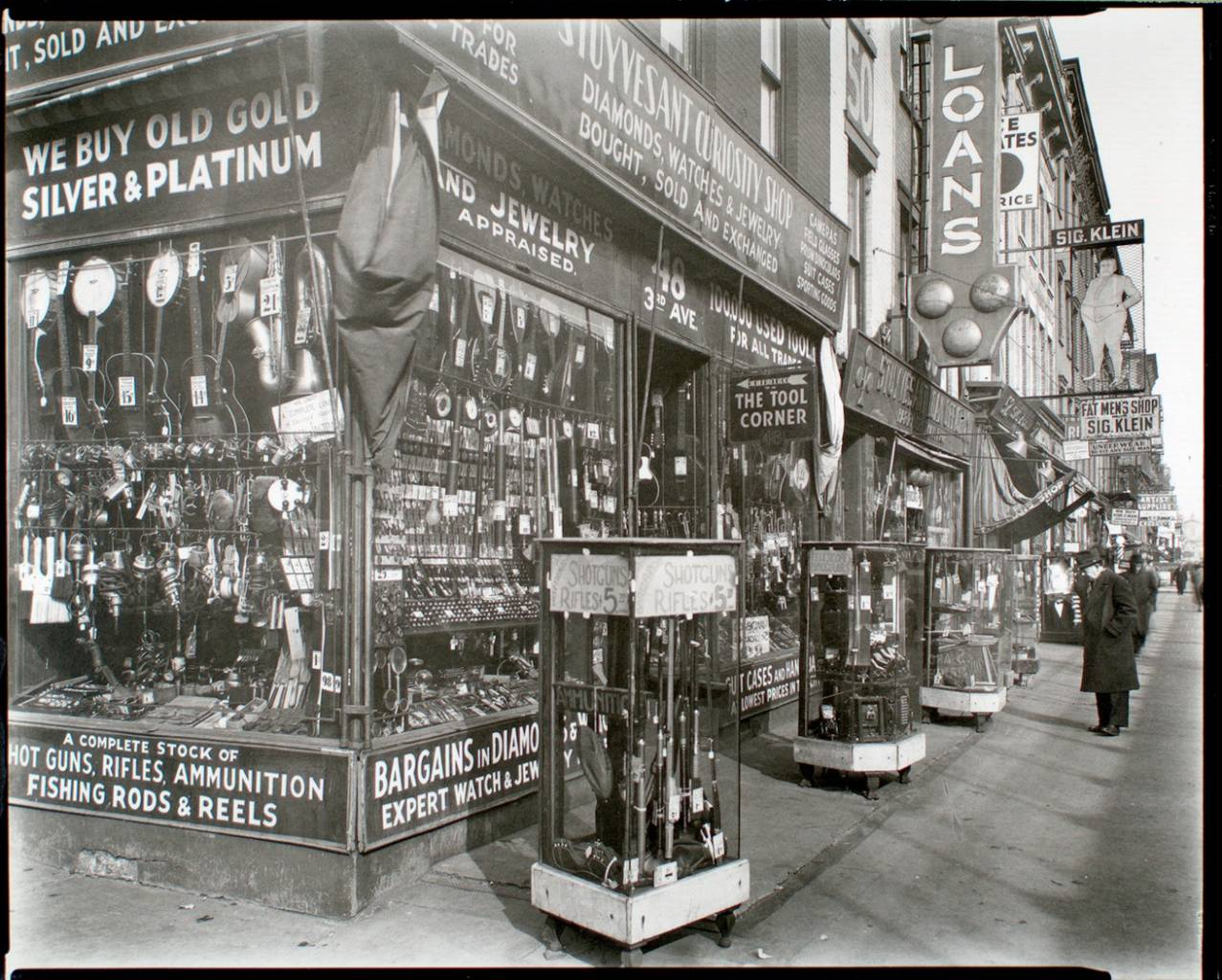 Pawn Shop, 48 Third Avenue, Manhattan