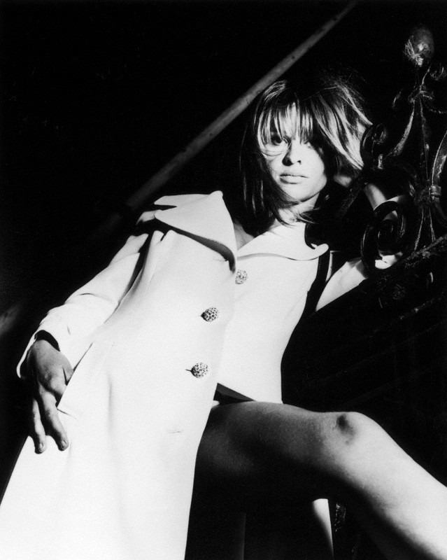 Julie Christie by John d'Green, bromide print, 1967