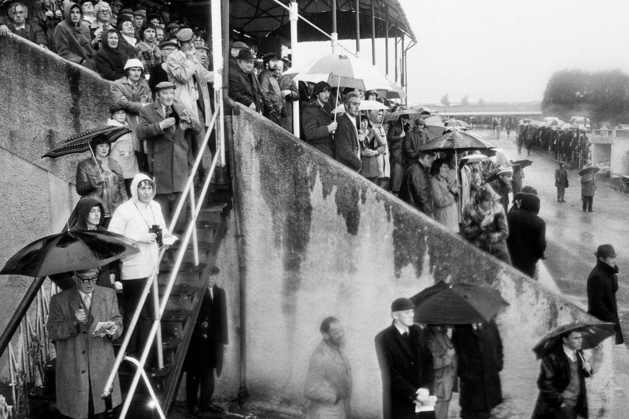 Roscommon races. From 'Bad Weather'. May 1981.