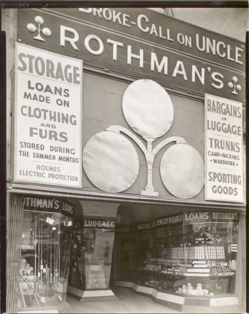 Rothman's Pawn Shop, 149 Eighth Avenue, Manhattan