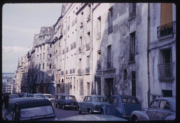 May 12, 1960. Rue Valette