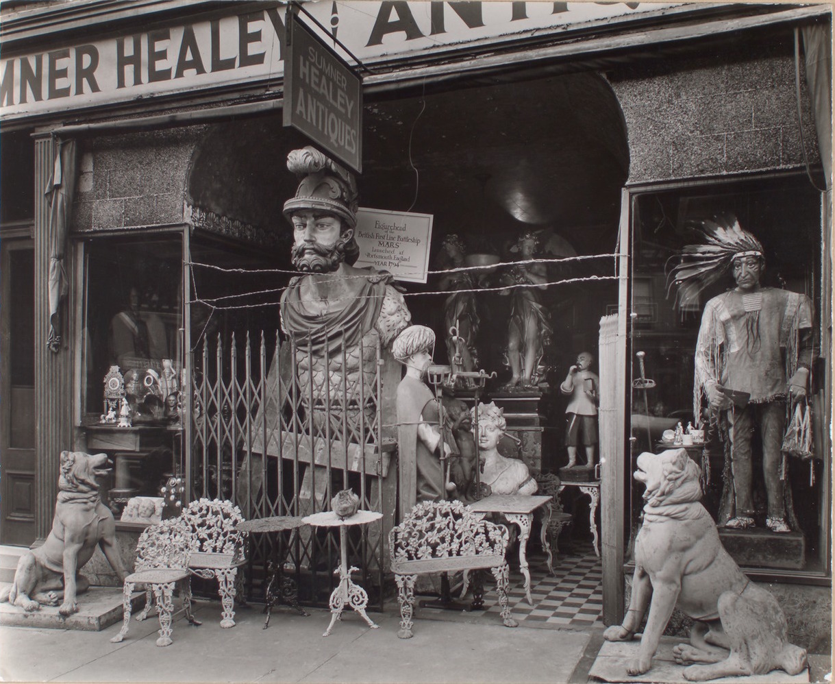 Sumner Healey Antique Shop, Third Avenue near 57th Street, Manhattan