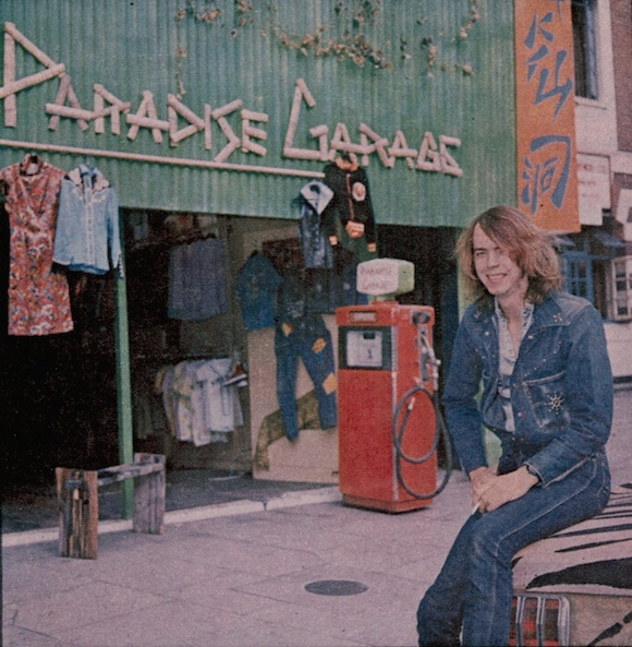 Trevor Myles in front of his store at 430 King's Road, autumn 1971.