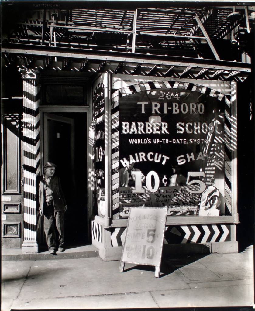 Tri-boro Barber School, 264 Bowery, Manhattan