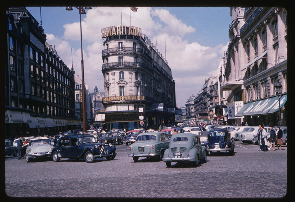 May 12, 1960. View north from Pont Neuf