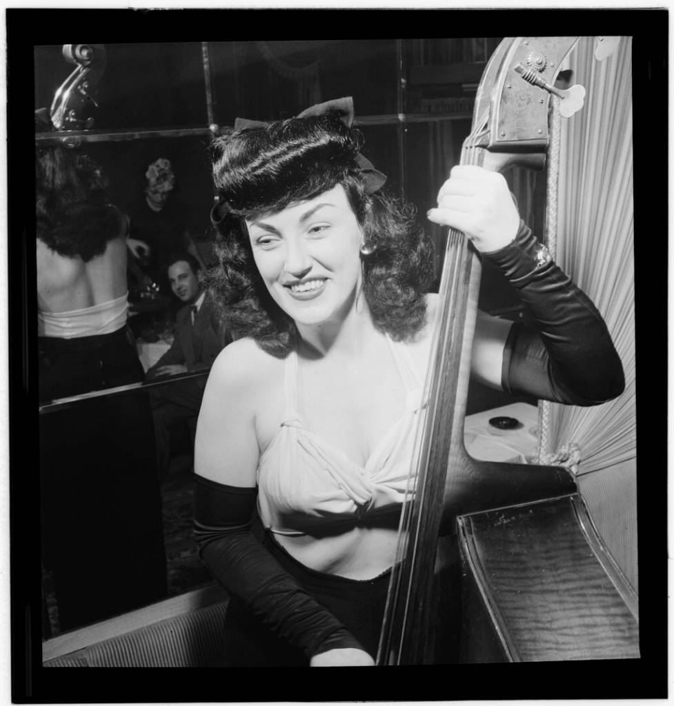 Portrait of Vivien Garry, New York, N.Y., Dixon's, ca. May 1947