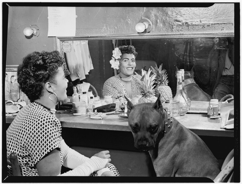 Portrait of Billie Holiday, Downbeat(?), New York, N.Y., ca. June 1946