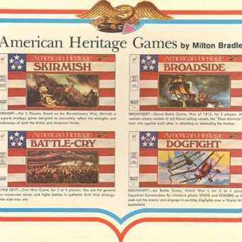 American Heritage: The War Games of The 1960s Generation (from Milton Bradley)