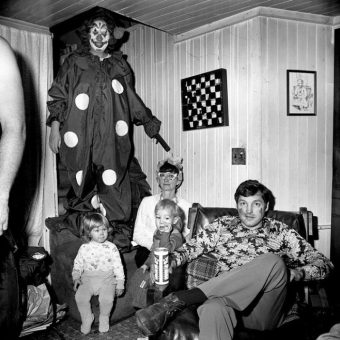 Vintage Photos Of Creepy Clowns