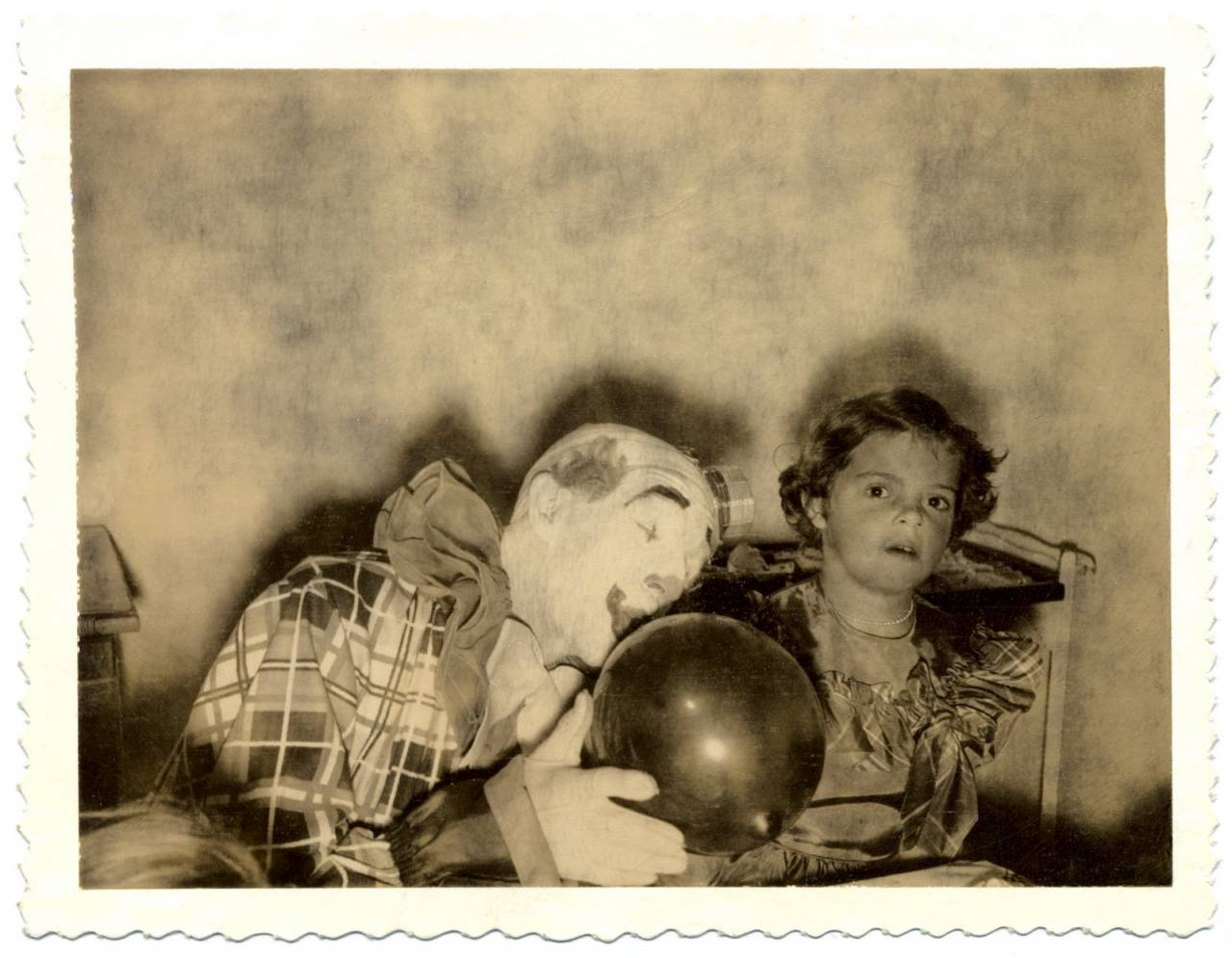 Found photos clowns scary
