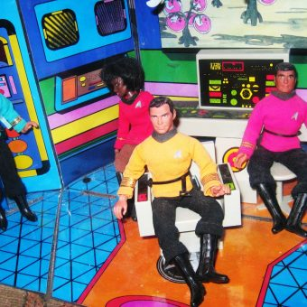 Captain on the (Plastic) Bridge: Remembering the First Fifty Years of Star Trek Bridge Playsets and Models