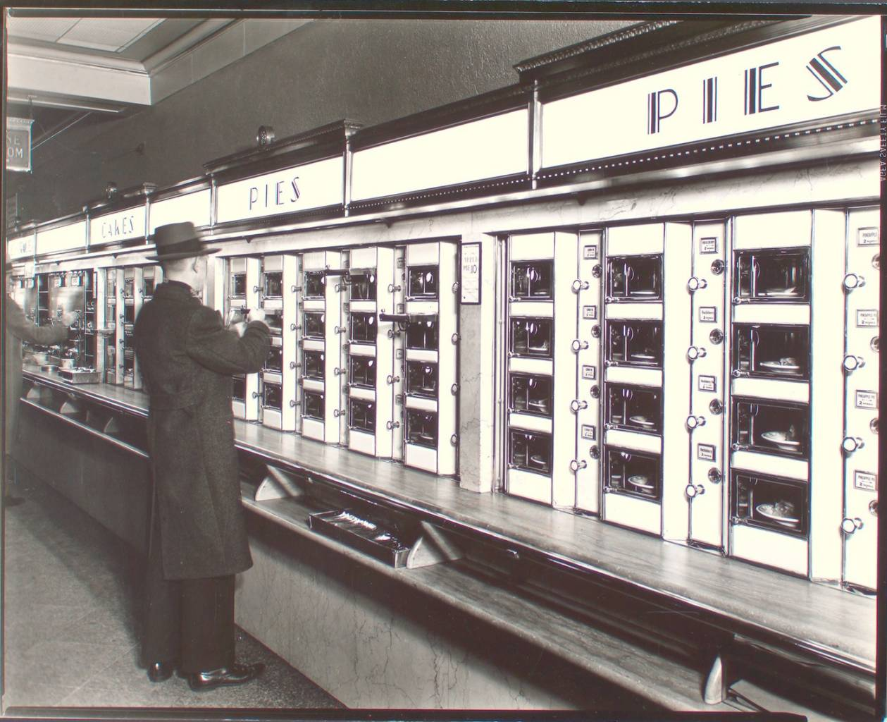 Automat, 977 Eighth Avenue, Manhattan, New York, 1936