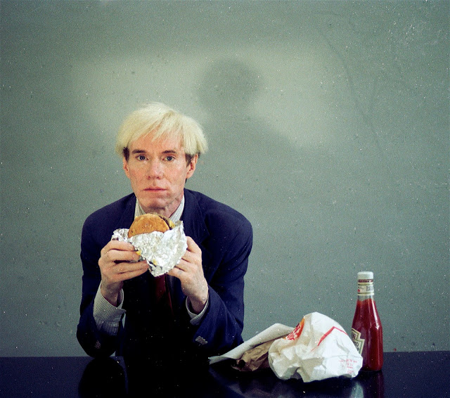 Andy WArhol burger king burger
