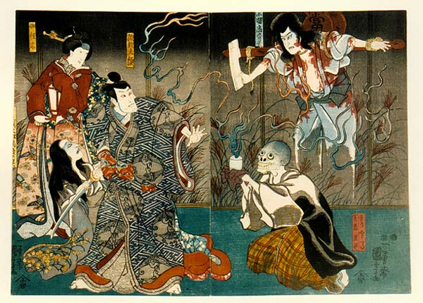 Utagawa Kuniyoshi 18th Century woodcuts Japan Japanese myth legend