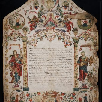 Ketubah Art: Jewish Marriage Contracts From The 17th and 18th Centuries