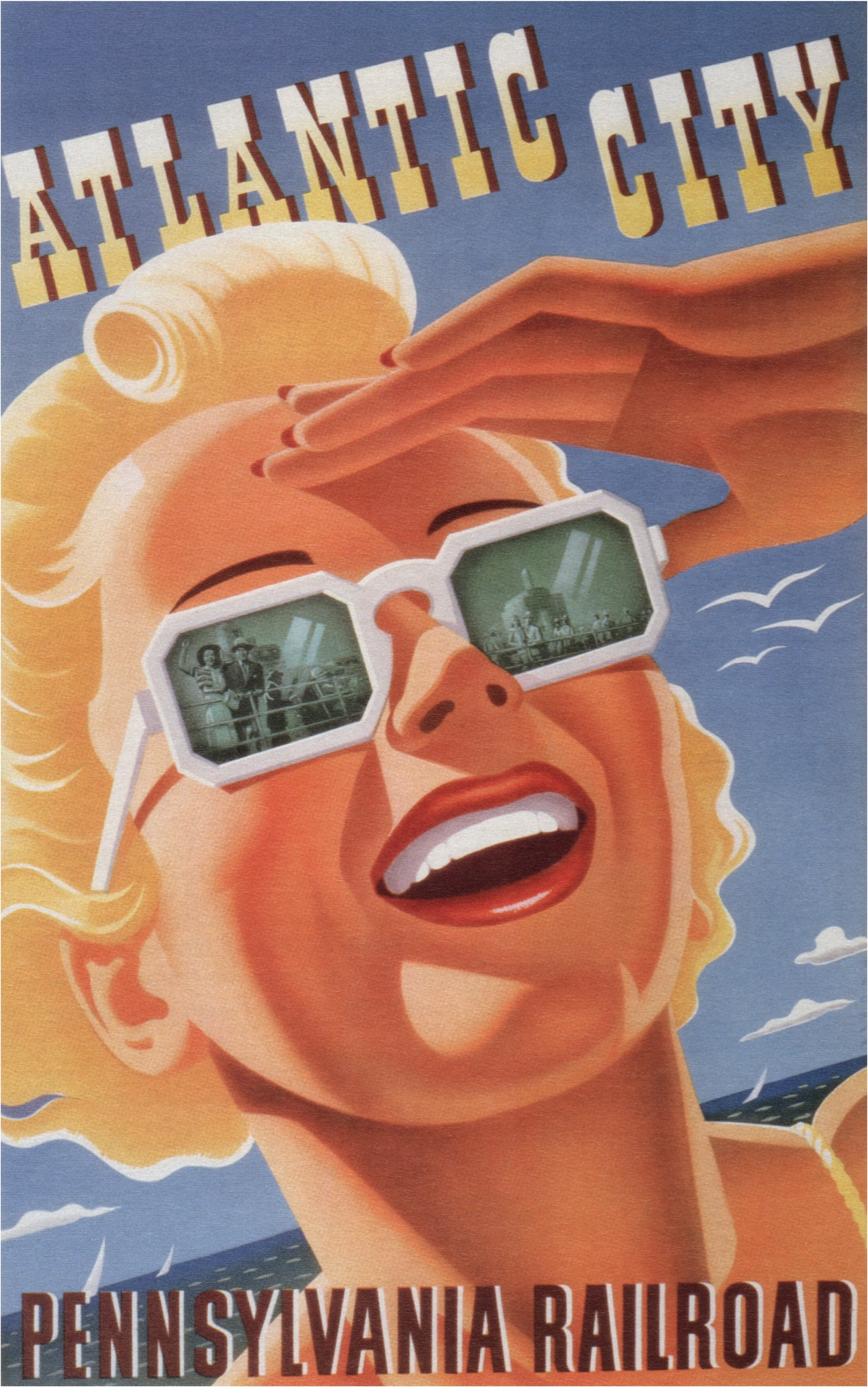 Awesome 20th Century American Travel Posters Flashbak