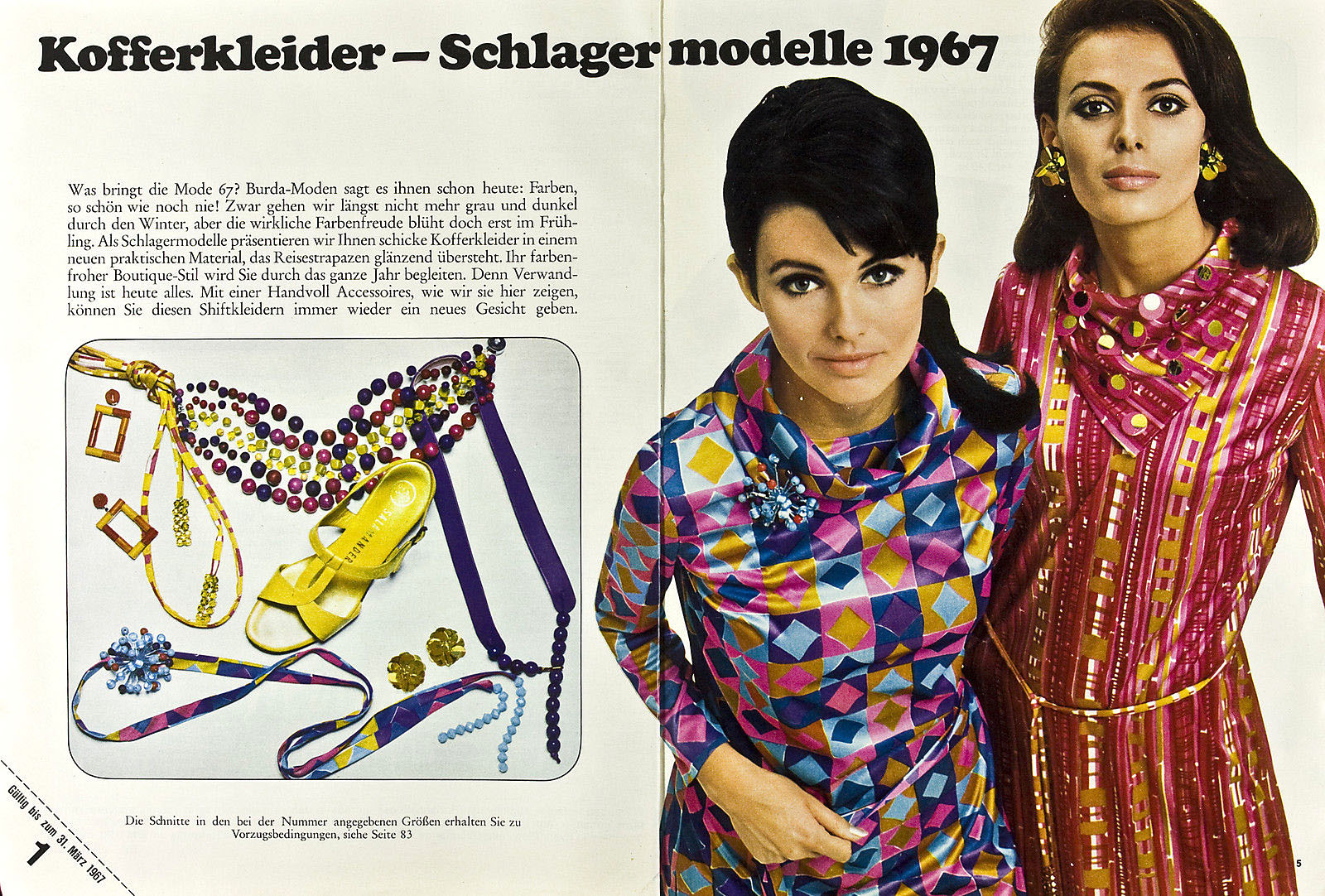 1967 Burda (German magazine) 1