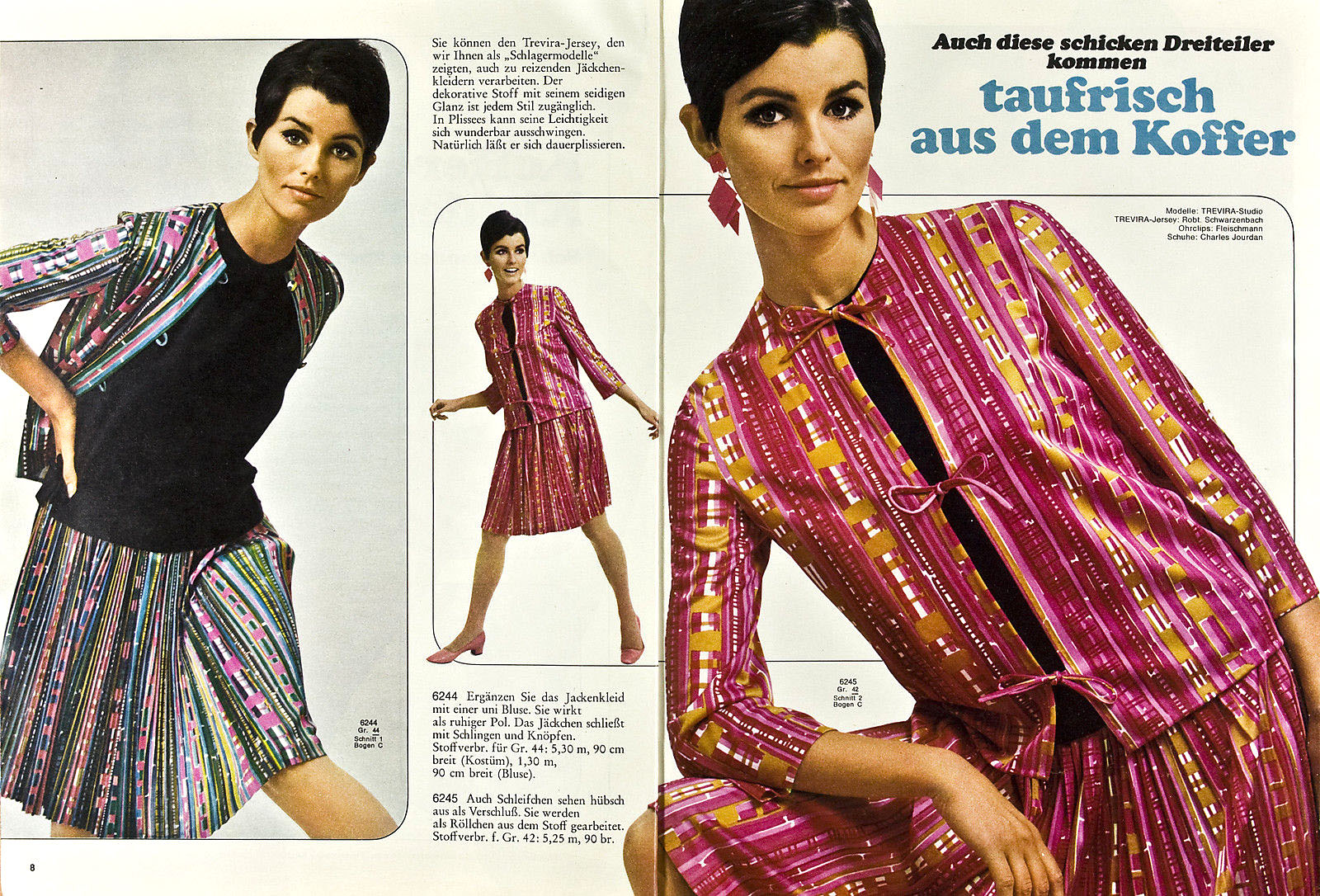 1967 Burda (German magazine) 3