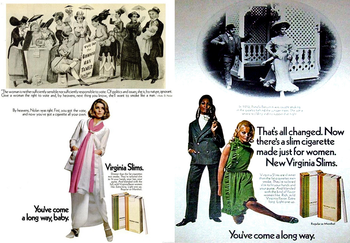 1969 virginia slims ad