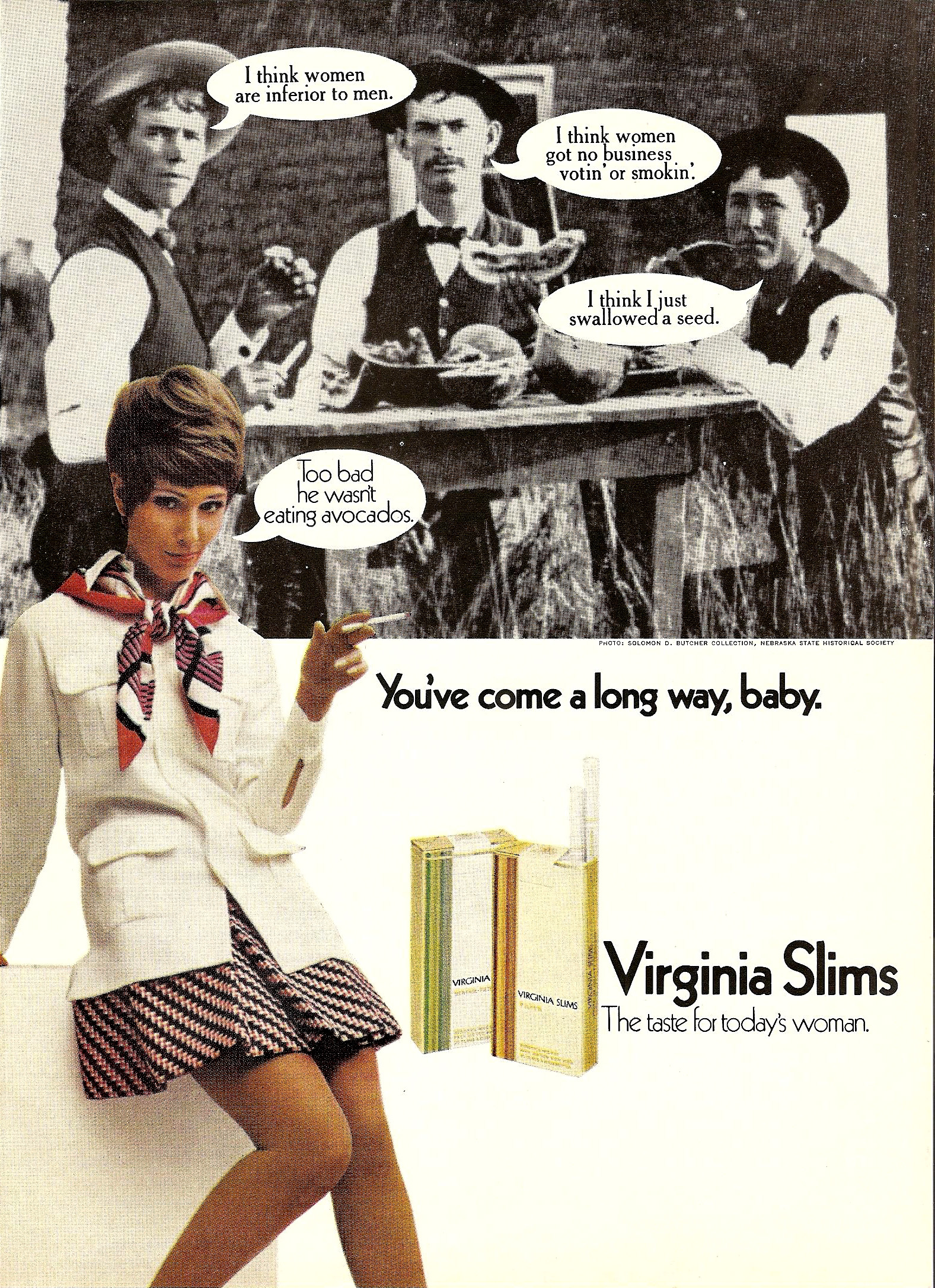 1970 virginia slims advertisement