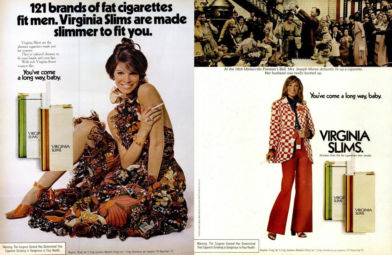 1972 virginia slims ad