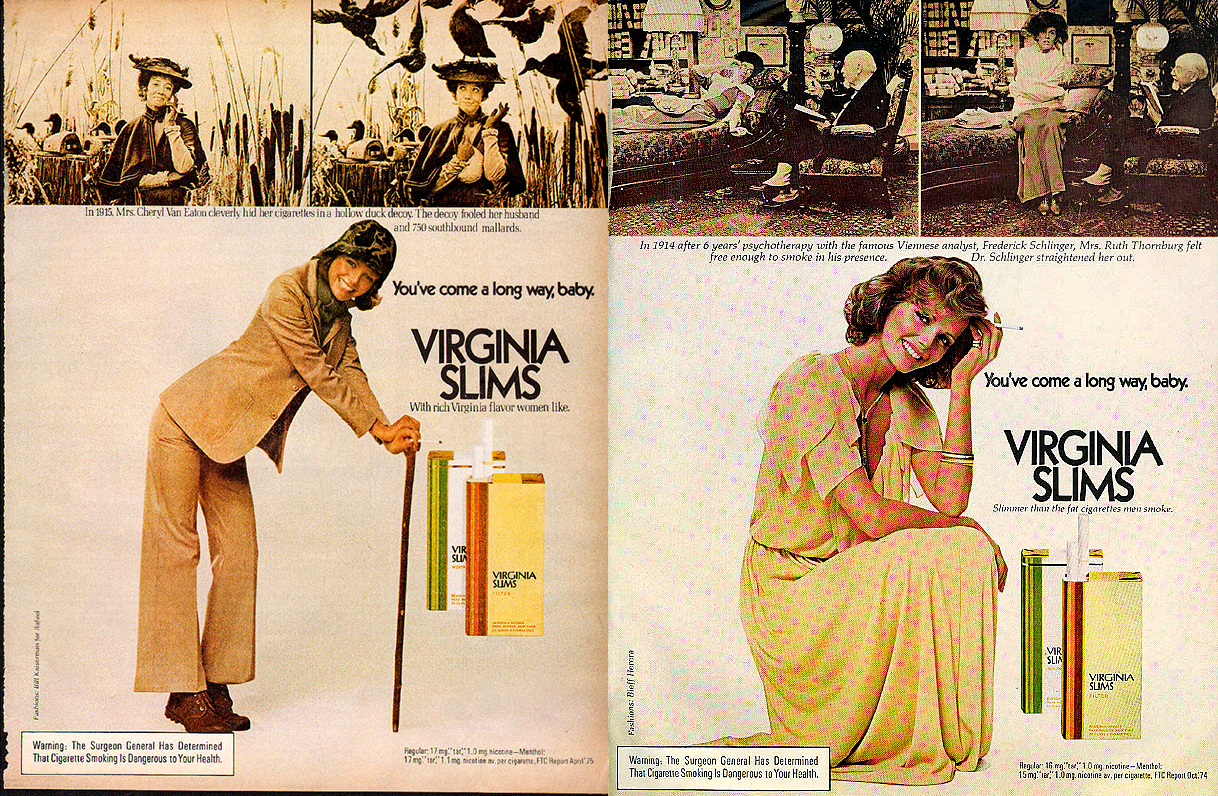 1975 virginia slims ad