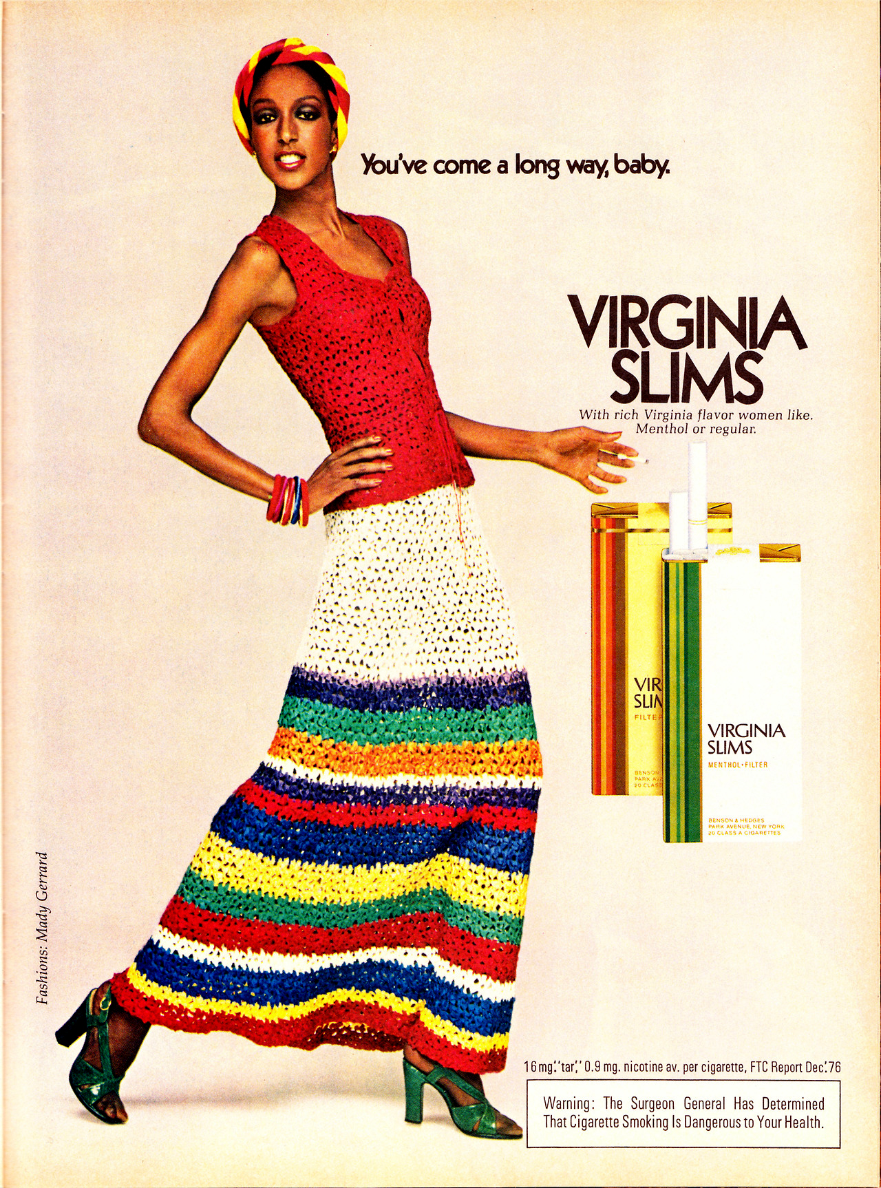 1976 virginia slims ad