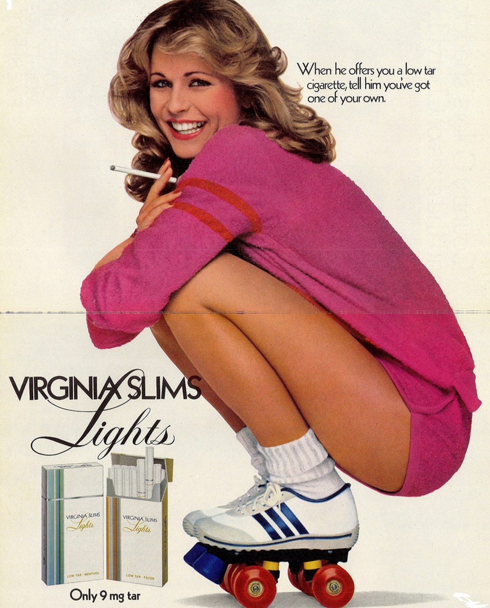 1980 virginia slims ad