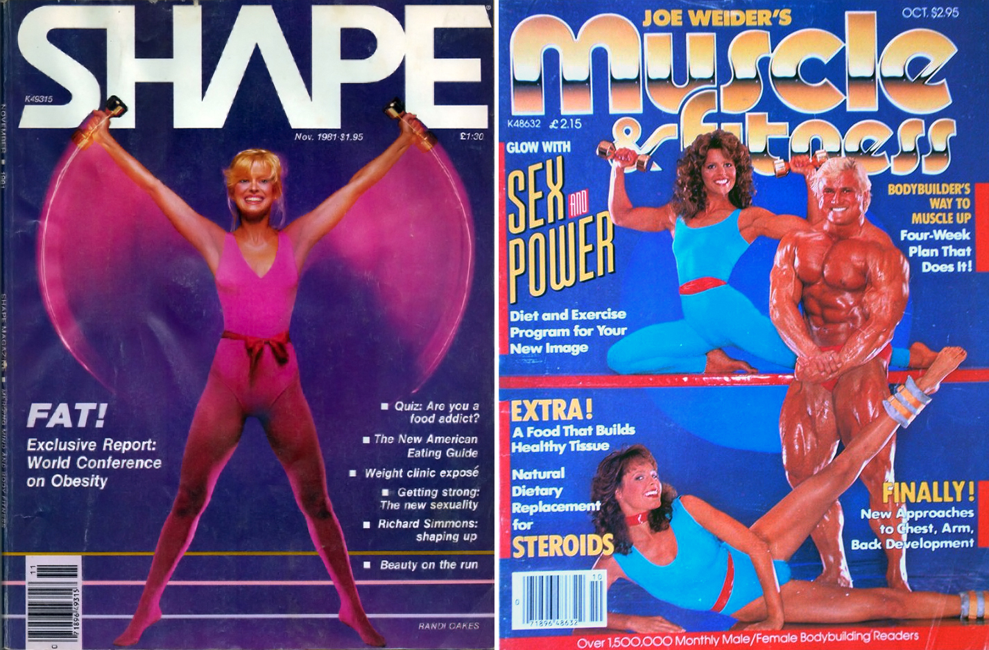 1980s fitness mags