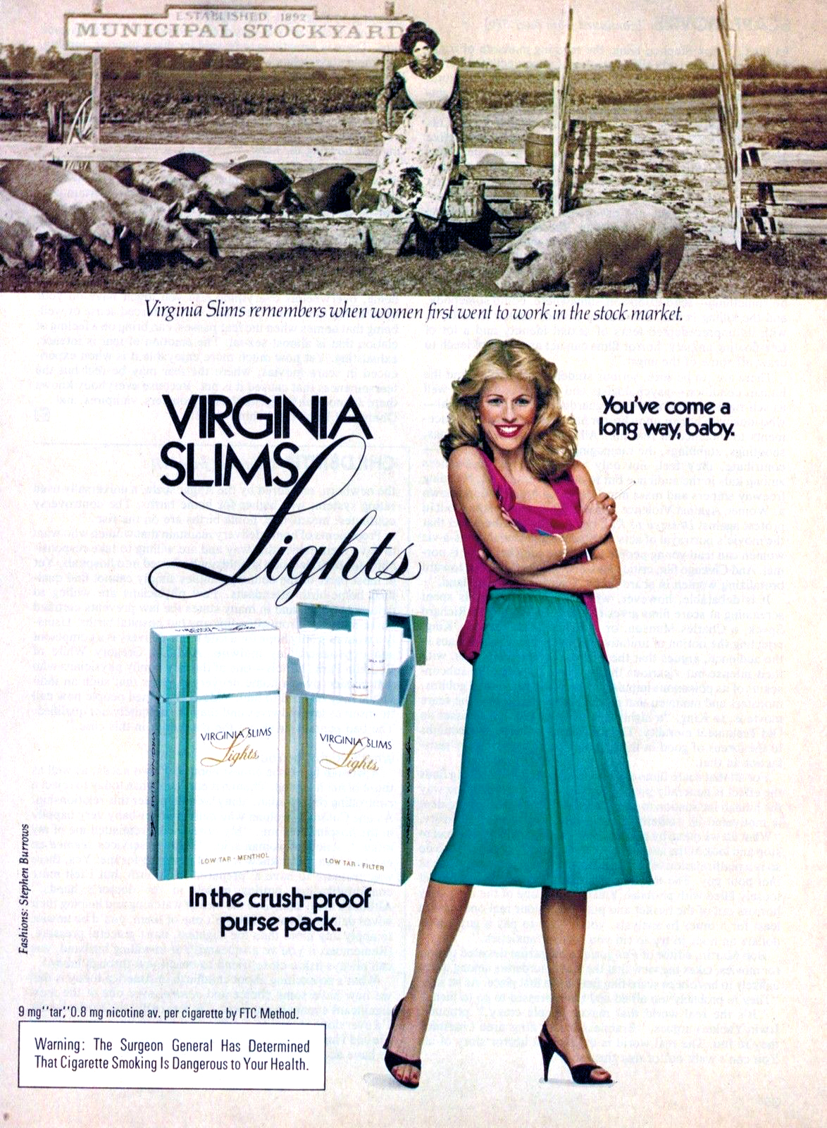 1981 virginia slims ad