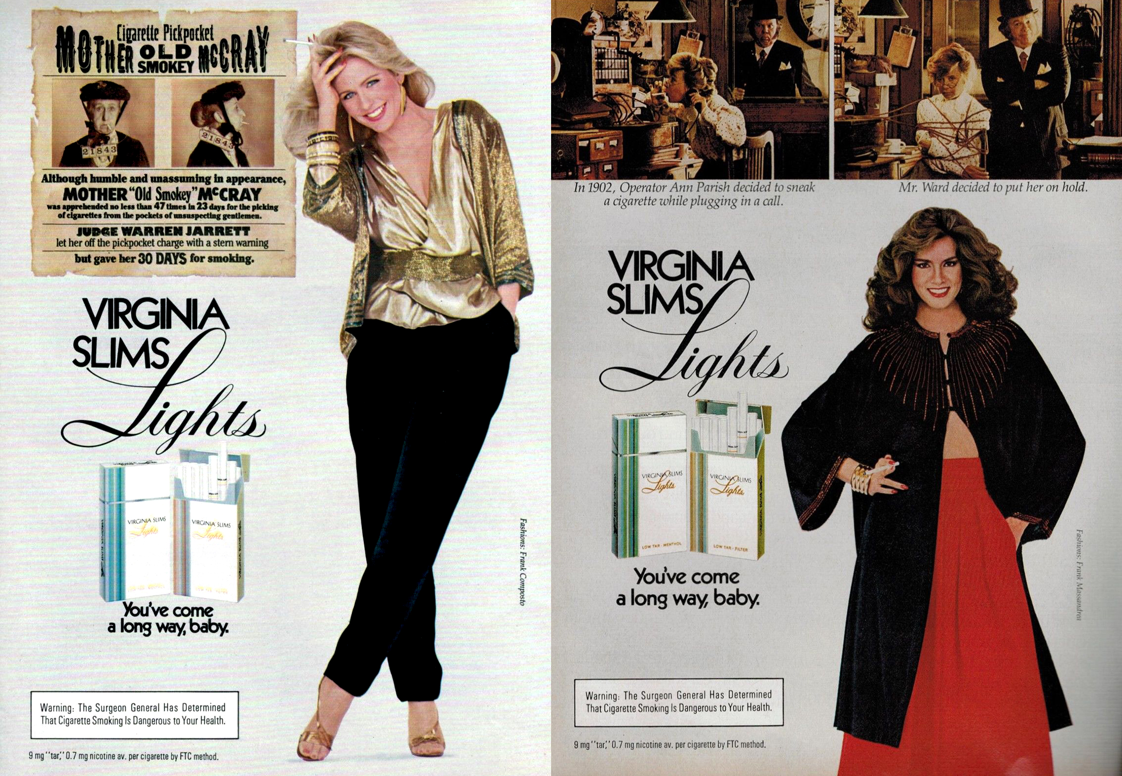 1982 virginia slims ad