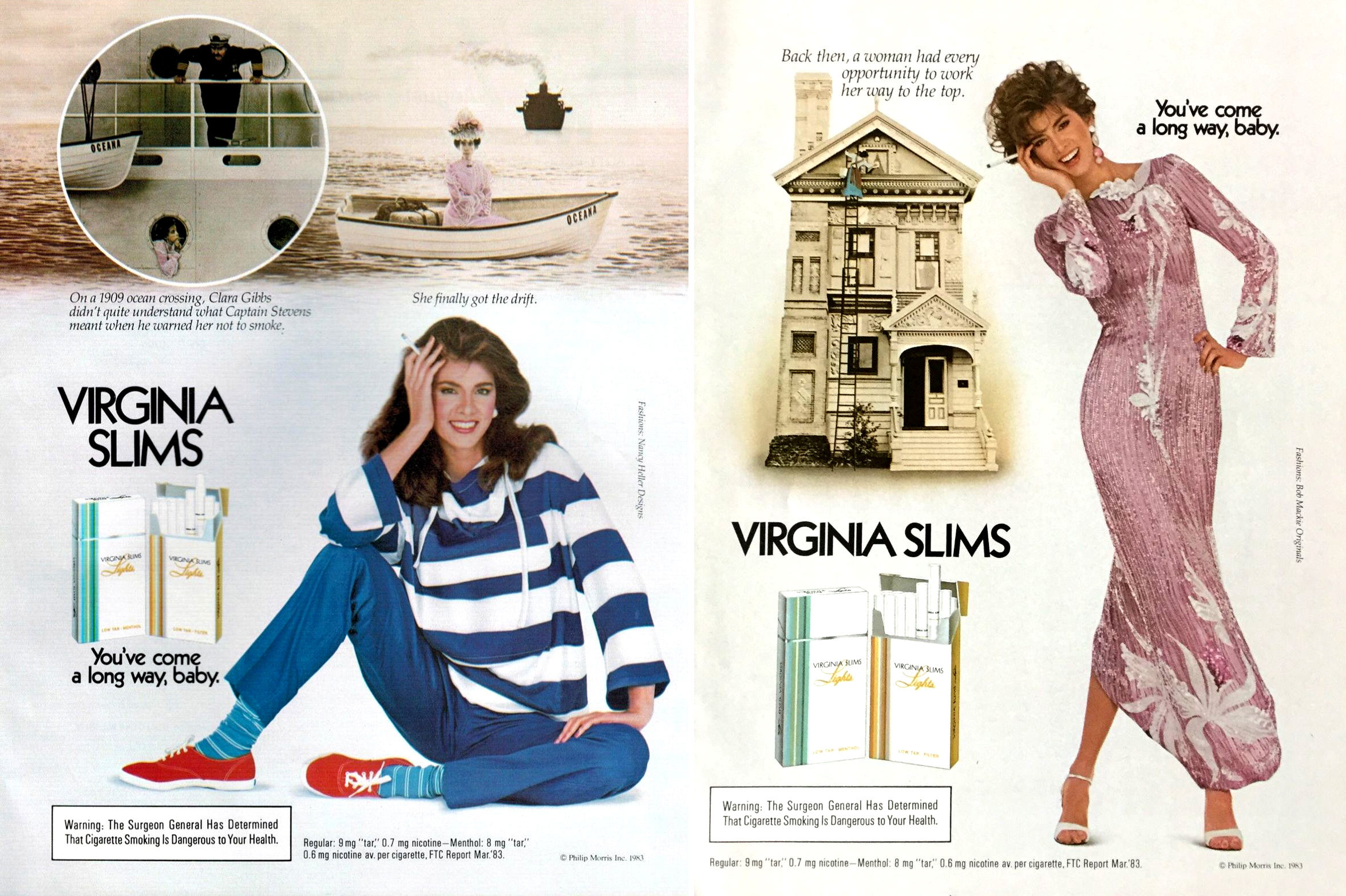 1983 virginia slims ad