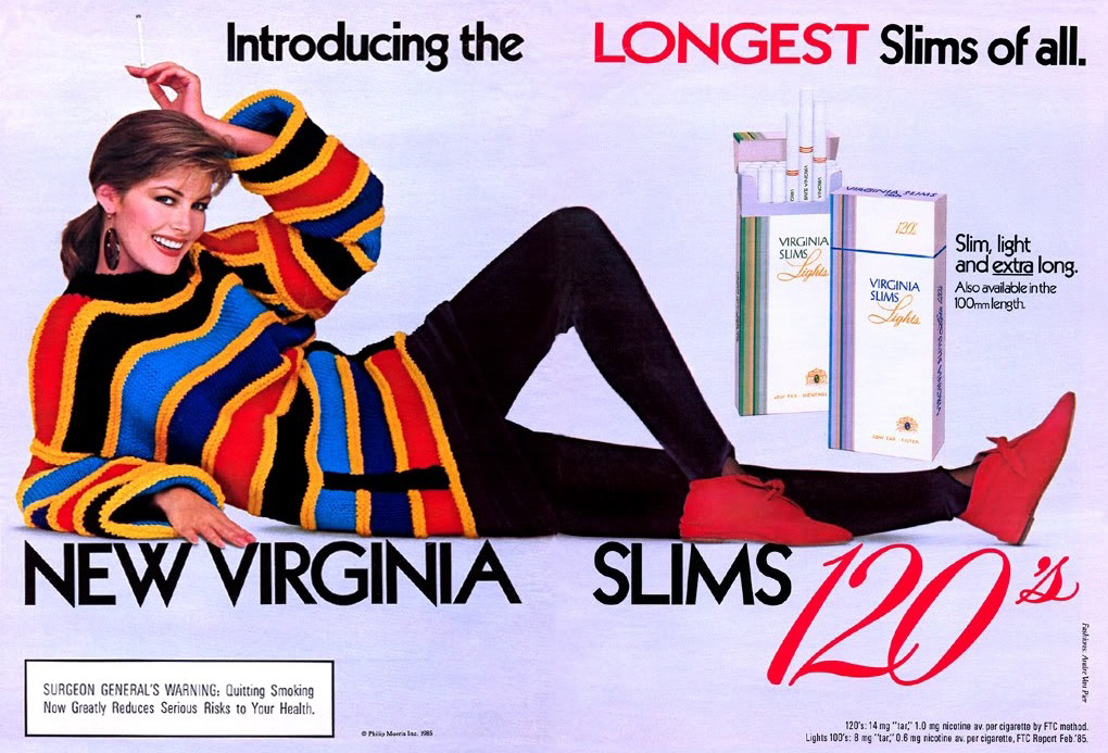 1985 virginia slims ad r
