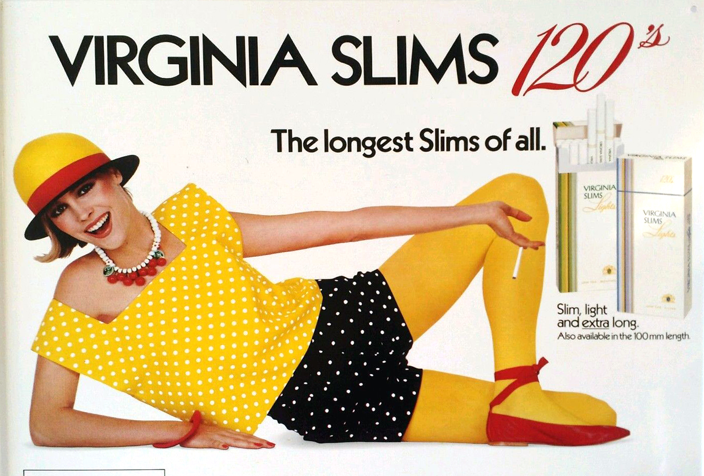 1985 virginia slims ad