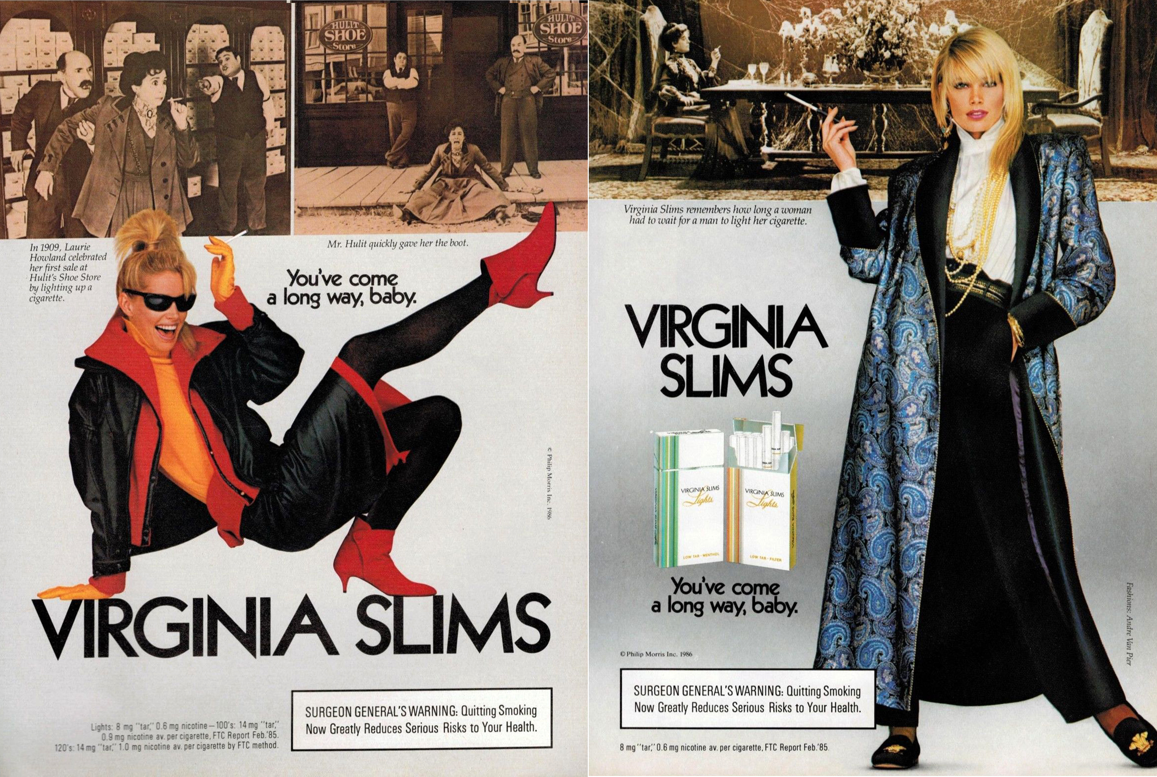 1986 virginia slims advert