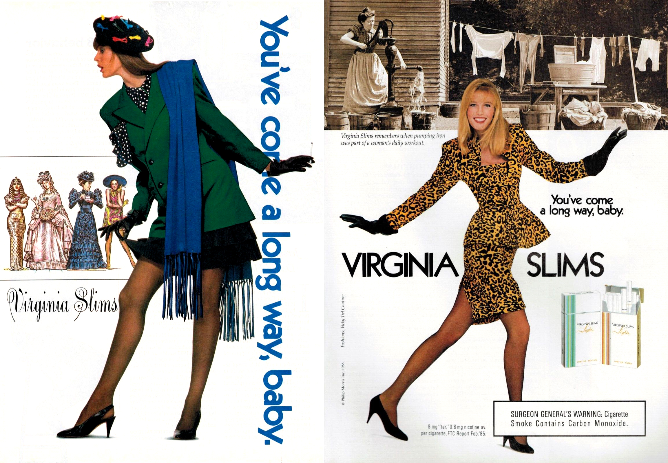 1988 virginia slims ad