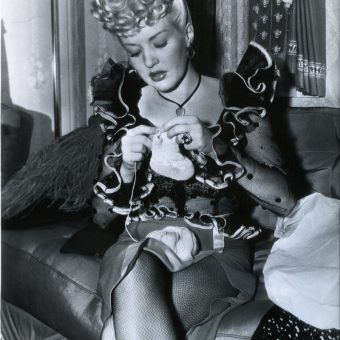 The Joy Of People Knitting In The 20th Century