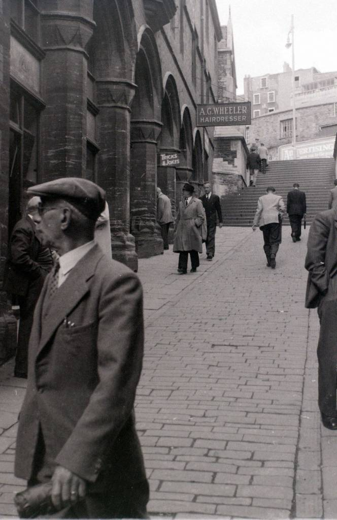 Christmas Steps, Bristol, 30 July 1958 b