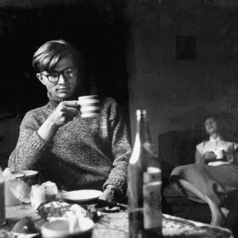 The Rise and Fall of Colin Wilson and the Night he Met Marilyn Monroe