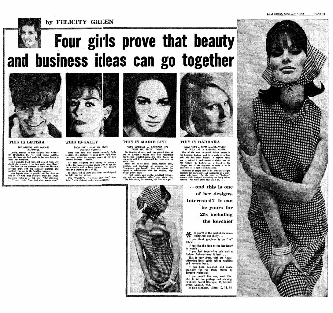 Daily Mirror, May 1964