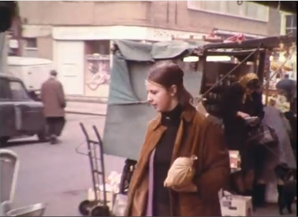 Dorothea Wight picking up groceries in Queens Crescent Market…