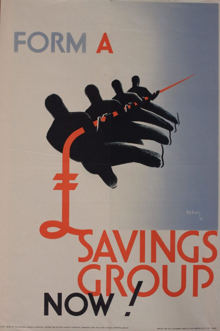 Form a Savings Group 1939 Pat Keely Patrick Cokayne Keely