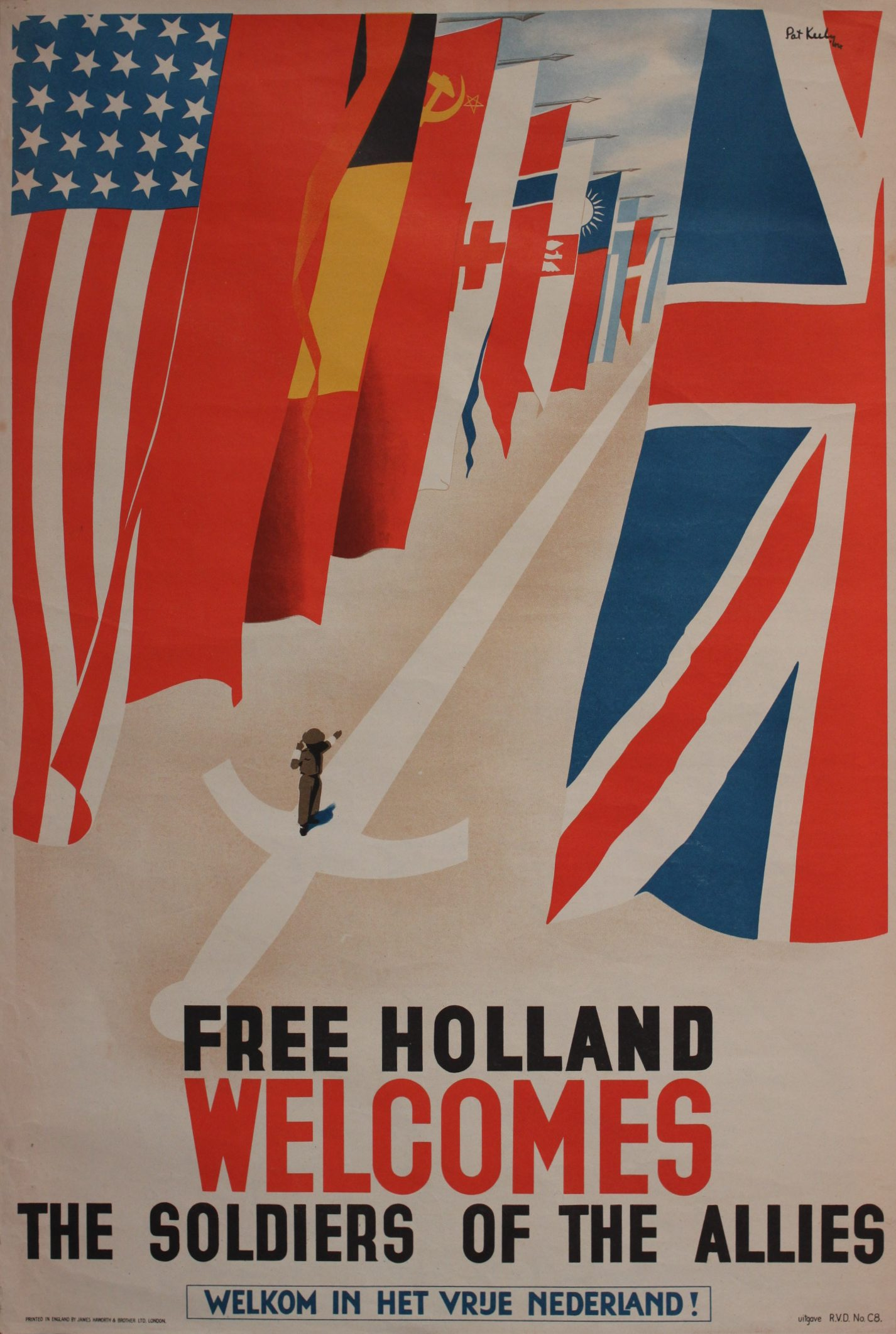 Free Holland Welcomes the Allies Pat Keely Patrick Cokayne Keely