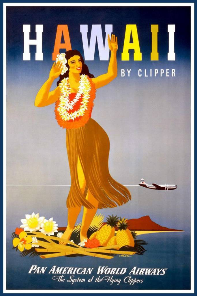 Hawaii-by-Clipper-John-Atherton-1948