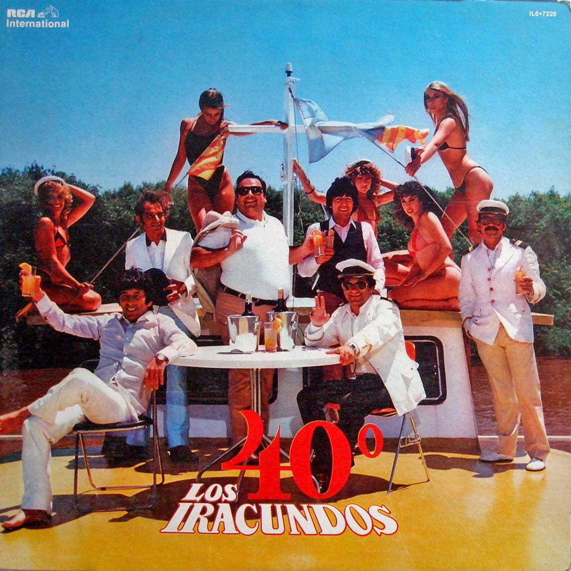 LOS IRACUNDOS 40 Degrees
