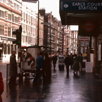Colour Slides of London, October 1978